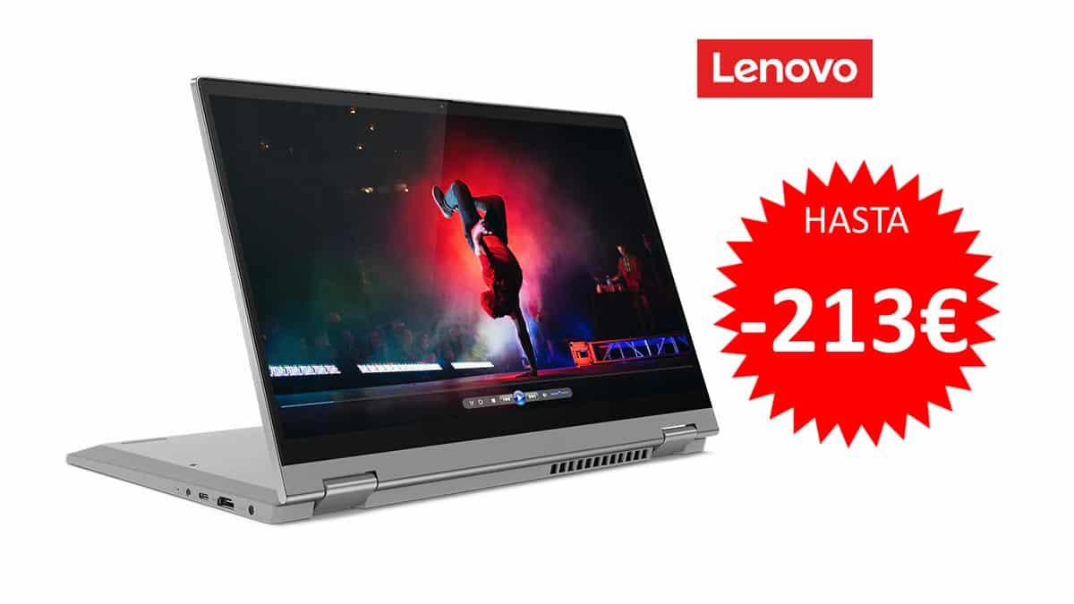 Portátil convertible Lenovo Ideapad Flex 5 barato. Portatiles baratos, ofertas en portatiles,chollo