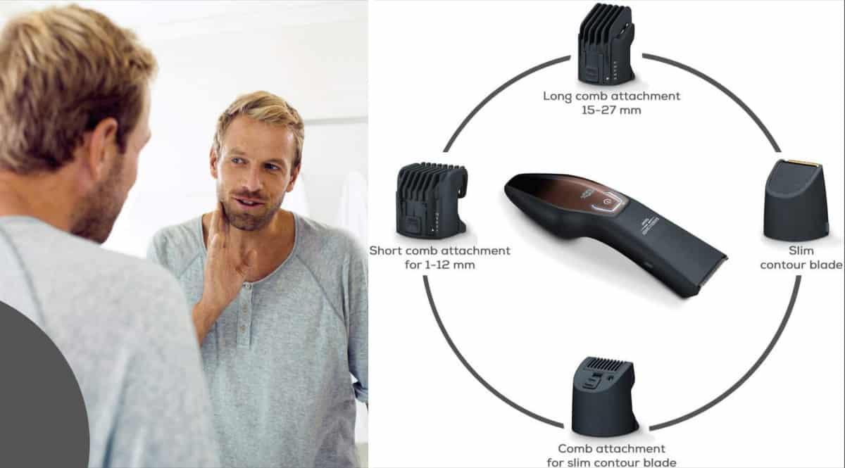 Recortadora de barba Beurer HR4000 barata. Ofertas en recortadoras de barba, recortadoras de barba baratas, chollo