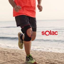 Rodillera Solac Thermosport barata, rodilleras de marca baratas, ofertas cuidado personal