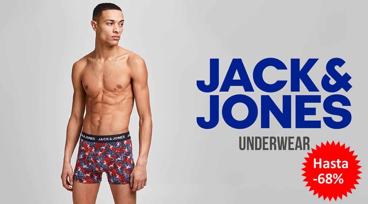 Ropa interior Jack & Jones barata, calcetines y calzoncillos de marca baratos, ofertas en ropa, chollo