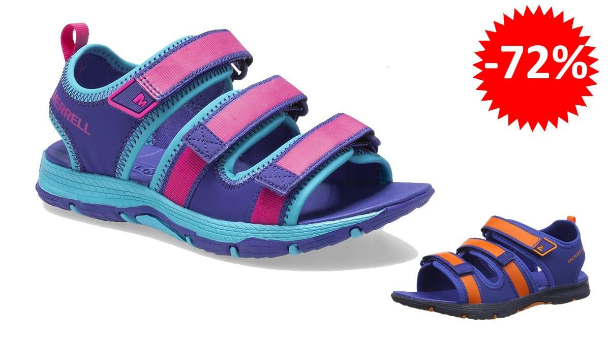 Sandalias para niña Merrell Hydro Creek baratas, sandalias de marca baratas, ofertas en calzado, chollo