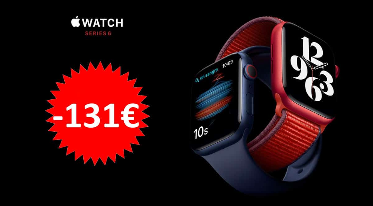 Smartwatch Apple Watch Series 6 barato. Ofertas en smartwatches, smartwatches baratos, chollo