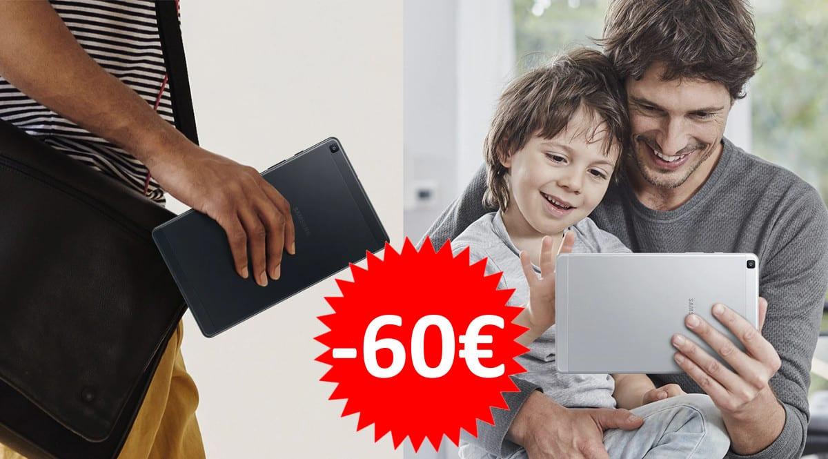 Tablet Samsung Galaxy A (2019) barata. Ofertas en tablets, tablets baratas, chollo
