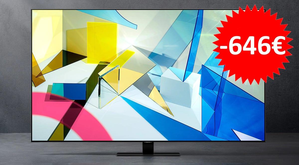 Televisor Samsung QE65Q80T barato. Ofertas en televisores, televisores baratos, chollo