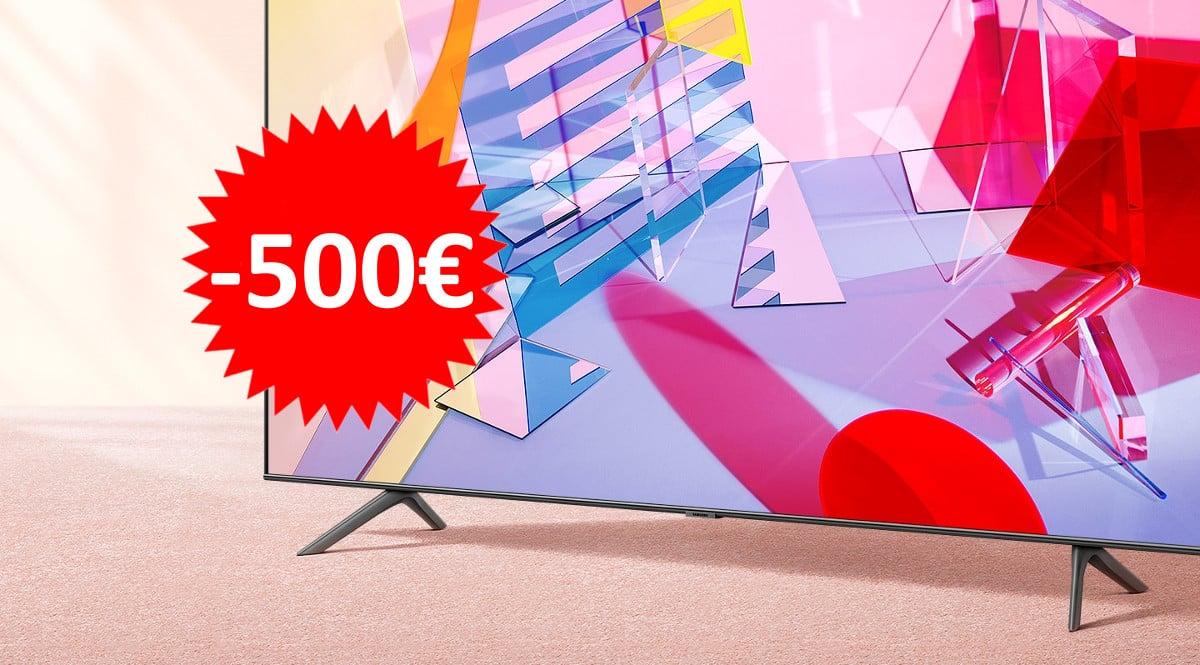 Televisor Samsung QLED 65Q60T barato. Ofertas en televisores, televisores baratos, chollo