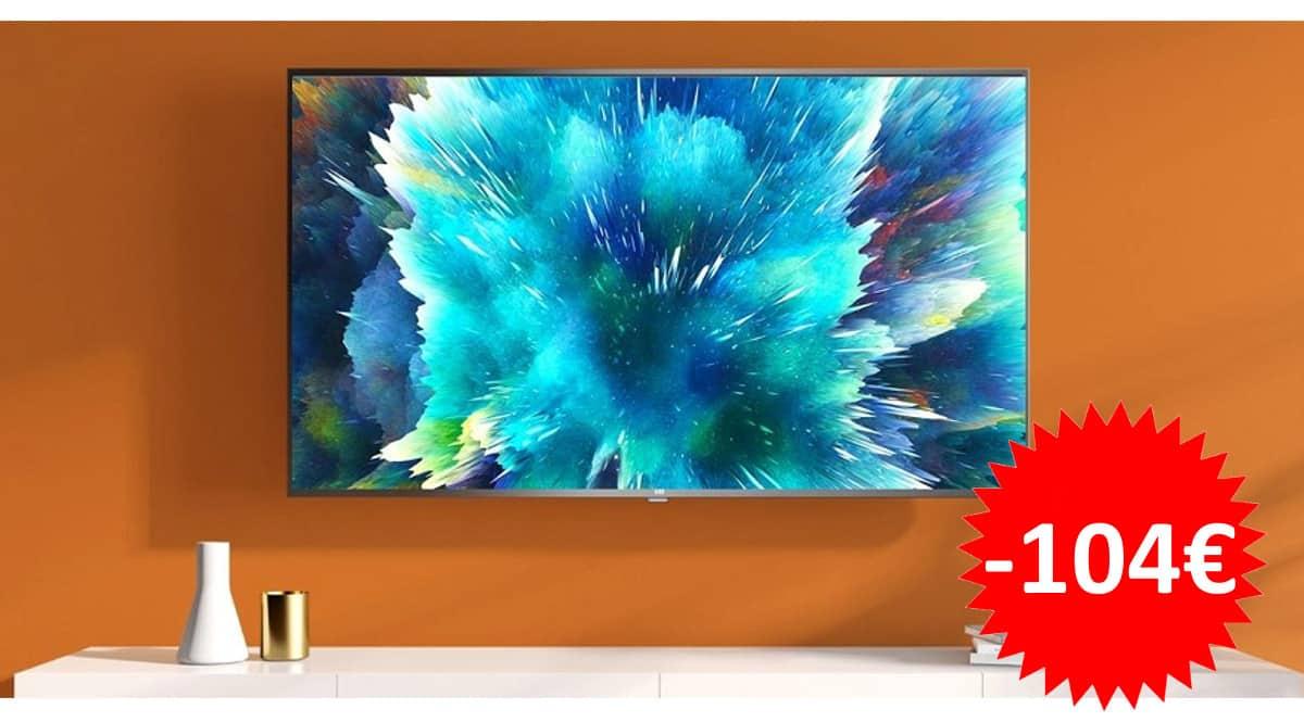 Televisor de 43 pulgadas Xiaomi Mi TV 4S barato. Ofertas en televisores, televisores baratos,chollo
