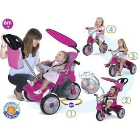 Triciclo evolutivo Feber Baby Trike Easy Evolution barato, juguetes de marca baratos, ofertas para niños