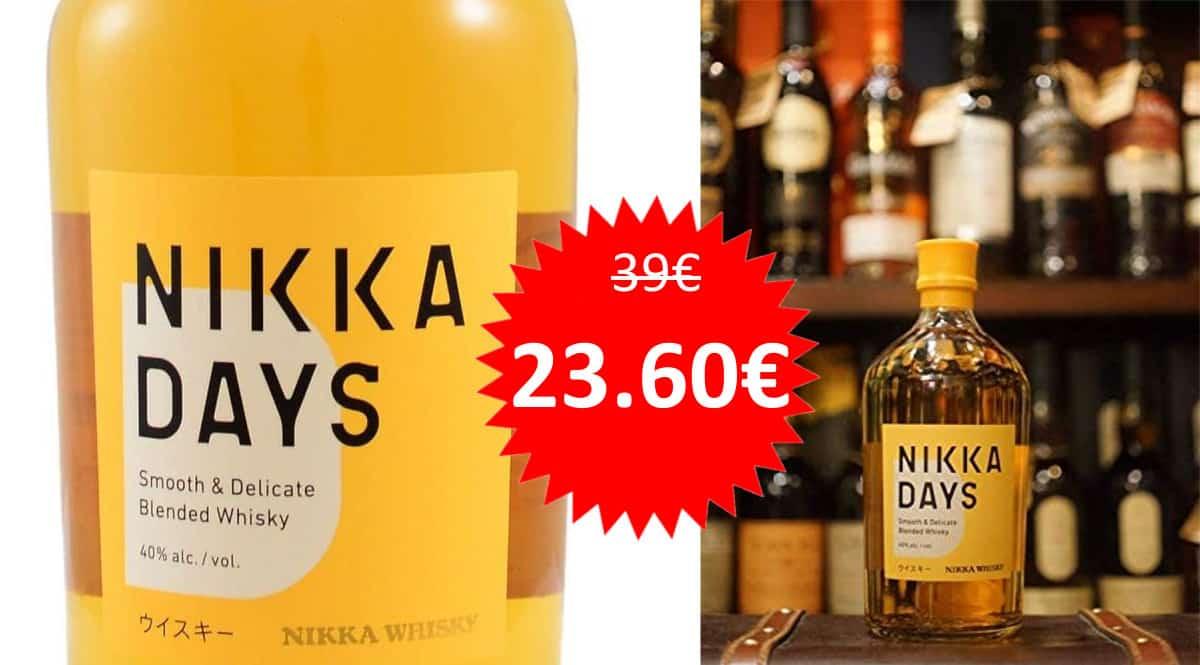Whisky Nikka Days barato. Ofertas en whisky, whisky barato,chollo