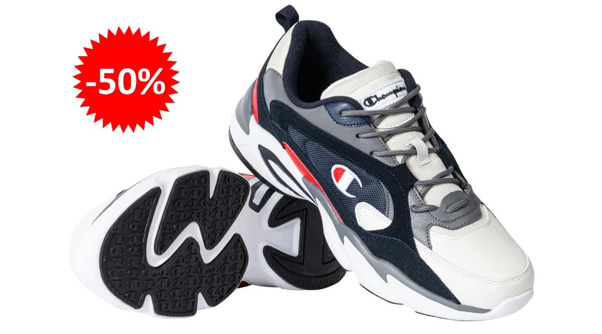 Zapatillas Champion Tampa baratas, calzado de marca barato, ofertas en zapatillas chollo