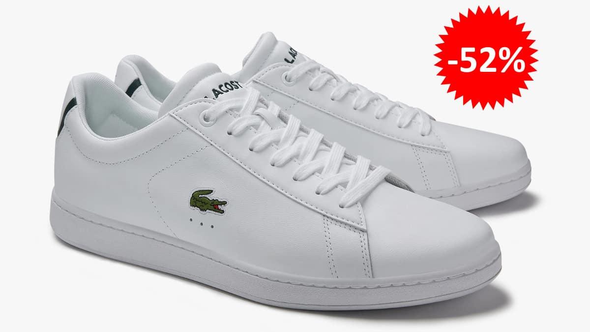 Zapatillas Lacoste Carnaby Evo para mujer baratas. Calzado de marca barato, Ofertas en calzado de marca, chollo