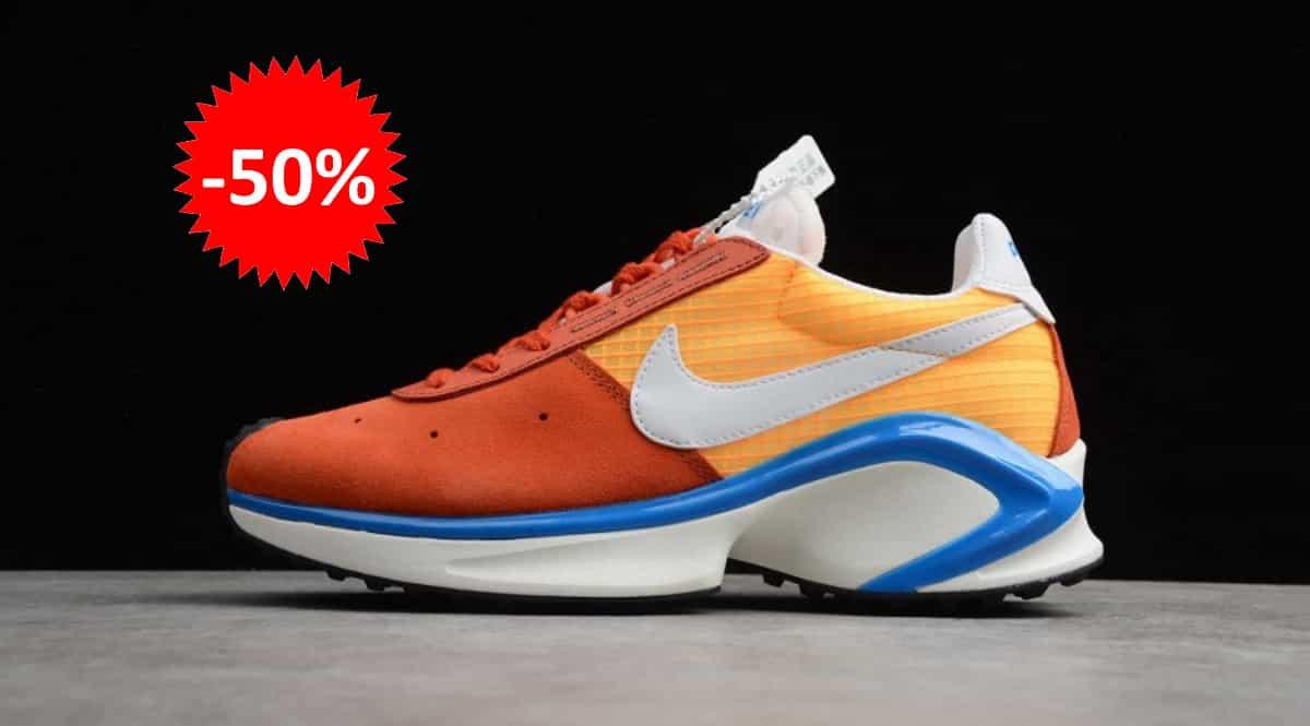Zapatillas Nike DMSX Waffle naranjas baratas, calzado de marca barato, ofertas en zapatillas chollo
