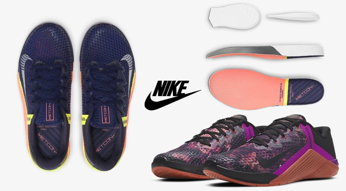 Zapatillas Nike Metcon 6 baratas, calzado de marca barato, ofertas en zapatillas chollo