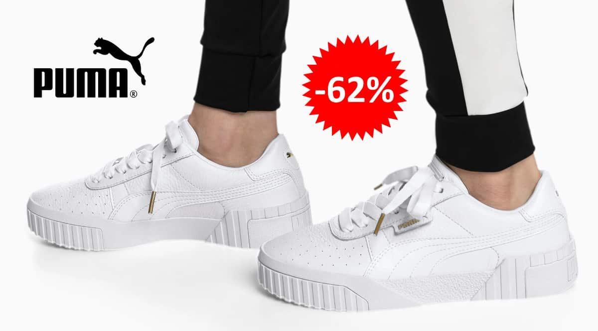 Zapatillas Puma Cali para mujer baratas, calzado barato, ofertas en zapatillas chollo