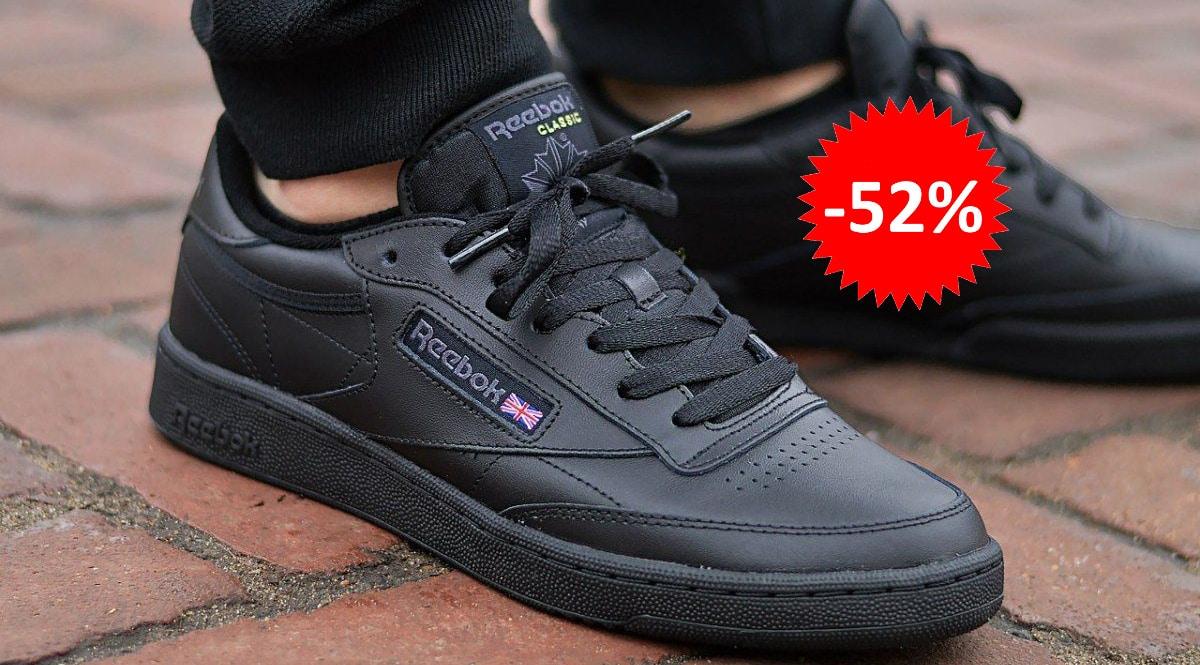 Zapatillas Reebok Club C 85 baratas, calzado de marca barato, ofertas en zapatillas chollo