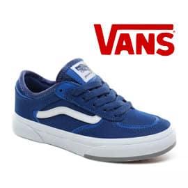 Zapatillas Vans Rowley para niños baratas, calzado de marca barato, ofertas en zapatillas