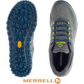 ¡¡Chollo!! Zapatillas de trail running para hombre Merrell Nova Gore-Tex sólo 70 euros. 50% de descuento.