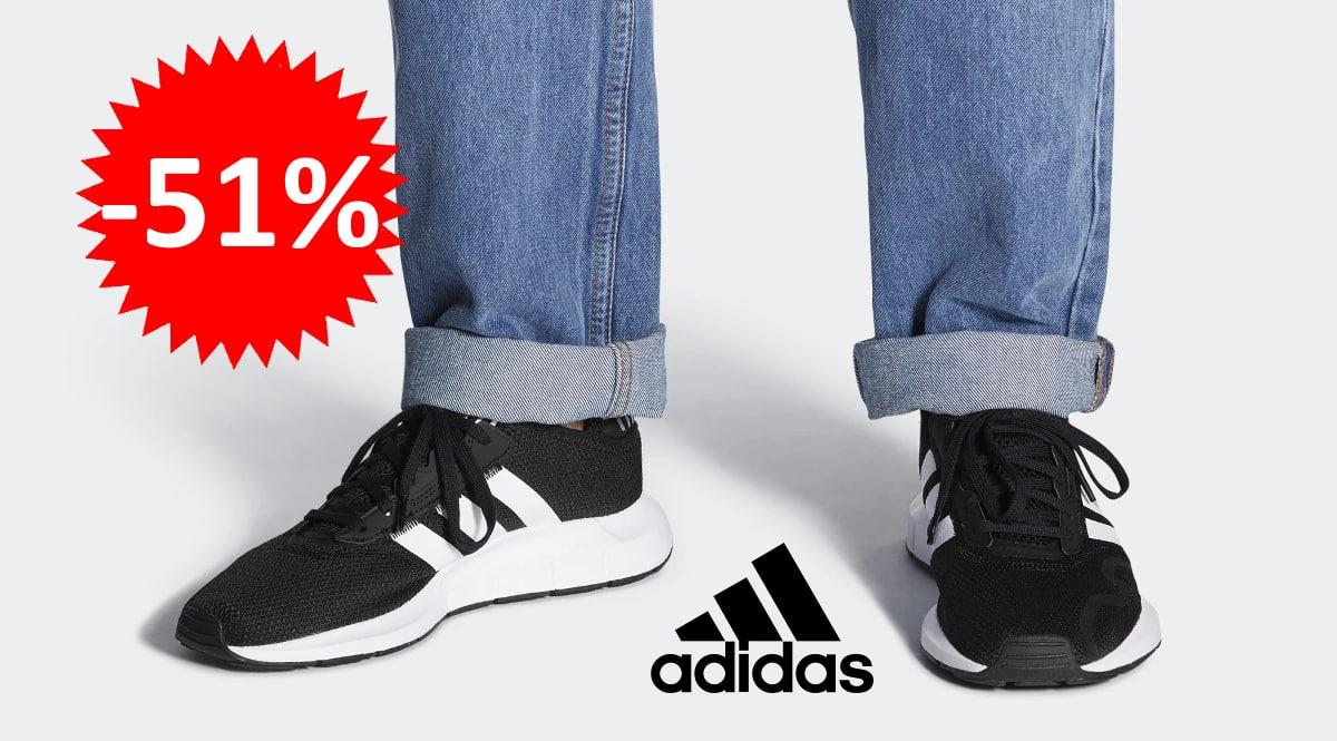 Zapatillas para hombre Adidas Swift Run X baratas, zapatillas de marca baratas, ofertas en calzado, chollo