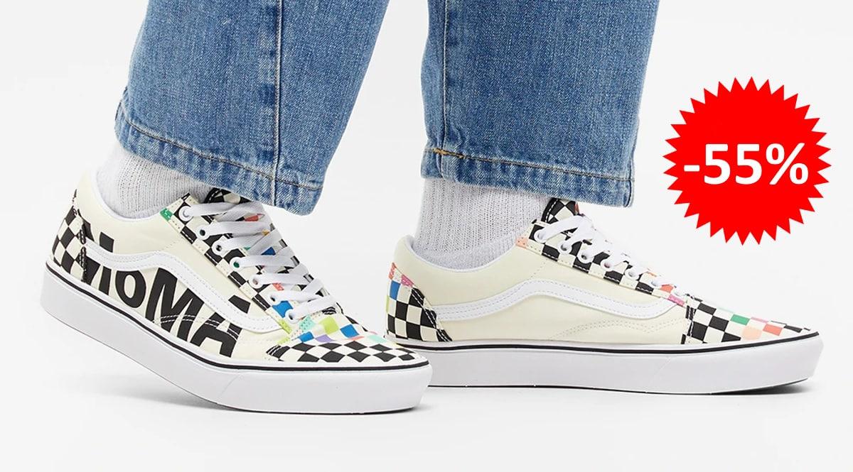 Zapatillas unisex Vans Moma Old Skool baratas, calzado de marca barato, ofertas en zapatillas chollo