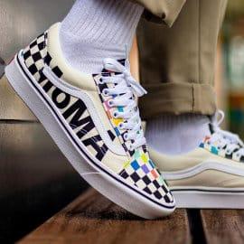 Zapatillas unisex Vans Moma Old Skool baratas, calzado de marca barato, ofertas en zapatillas