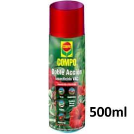 ¡Precio mínimo histórico! Aerosol insecticida y acaricida COMPO Doble Acción, 500ml, sólo 2.60 euros. 69% de descuento.