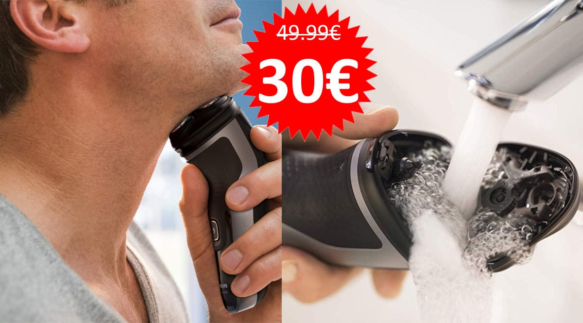 Afeitadora Philips S1332 barata. Ofertas en afeitadoras, afeitadoras baratas, chollo