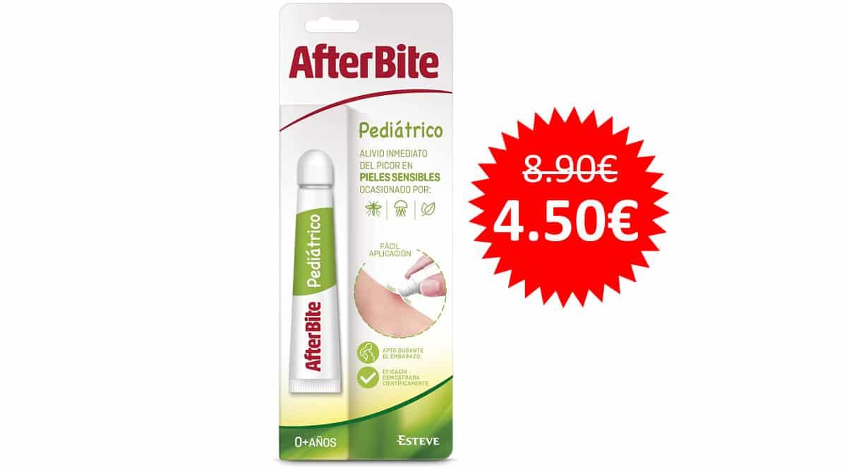 ¡¡Chollo!! After Bite Pediátrico +0 años 20g sólo 4.50 euros. Mitad de precio.