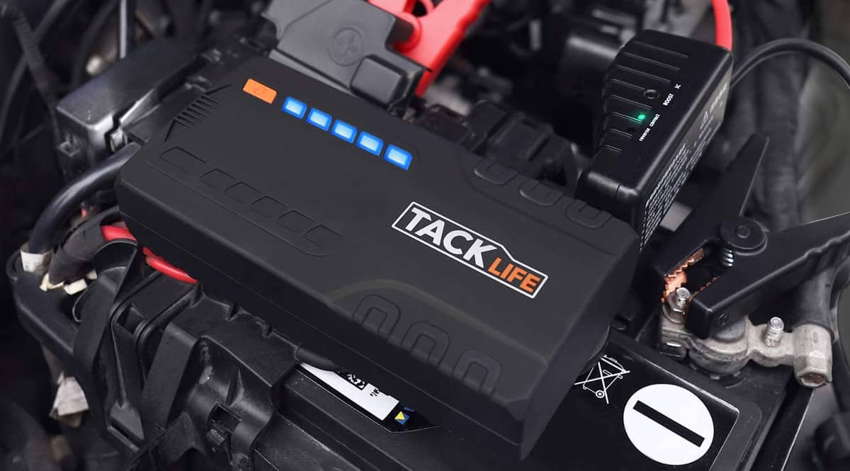 Arrancador de coche Tacklife T6 barato. Ofertas en arrancadores de coche, arrancadores de coche baratos, chollo