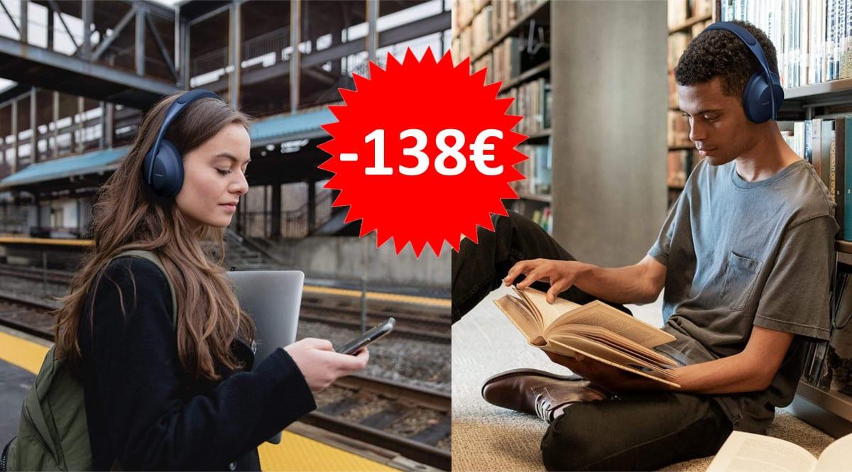 Auriculares Bose Headphones 700 baratos. Ofertas en auriculares, auriculares baratos,chollo