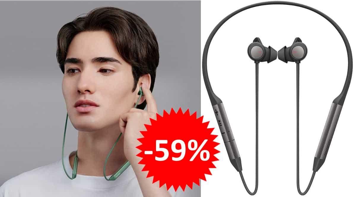 Auriculares inalámbricos Huawei FreeLace Pro baratos. Ofertas en auriculares, auriculares baratos, chollo