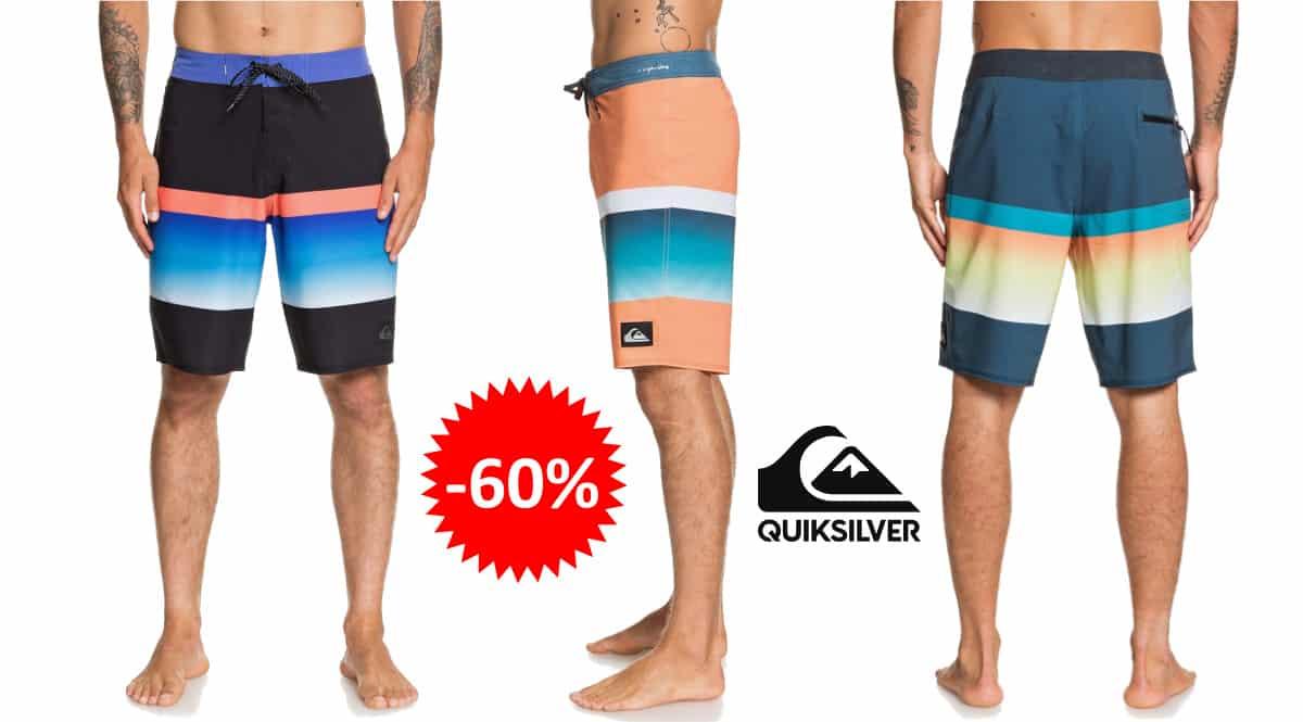 Bañador Quiksilver Highline Slab 20 barato, ropa de marca barata, ofertas en bañadores chollo