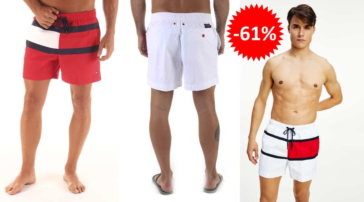 Bañador Tommy Hilfiger barato, ropa de marca barata, ofertas en bañadores 2 chollo