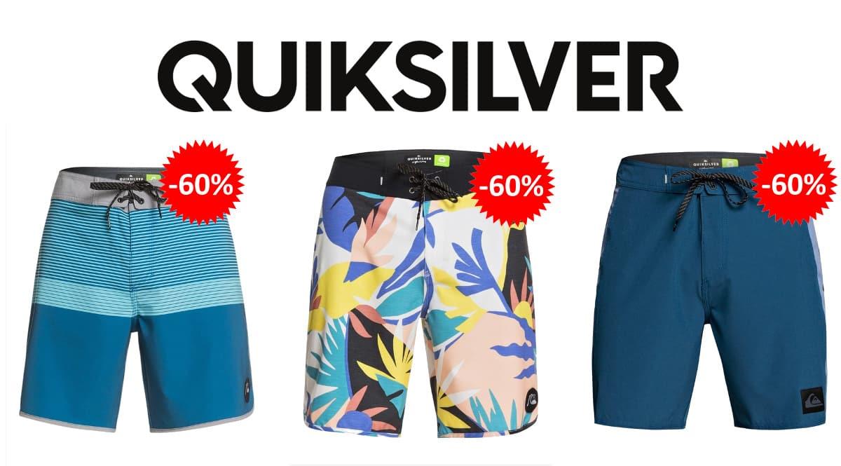 Bañadores Quiksilver baratos, ropa de marca barata, ofertas en bañadores chollo