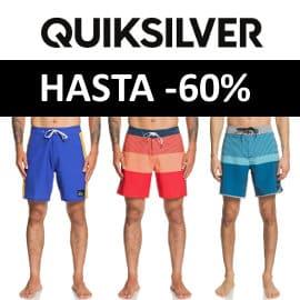 Bañadores Quiksilver baratos, ropa de marca barata, ofertas en bañadores