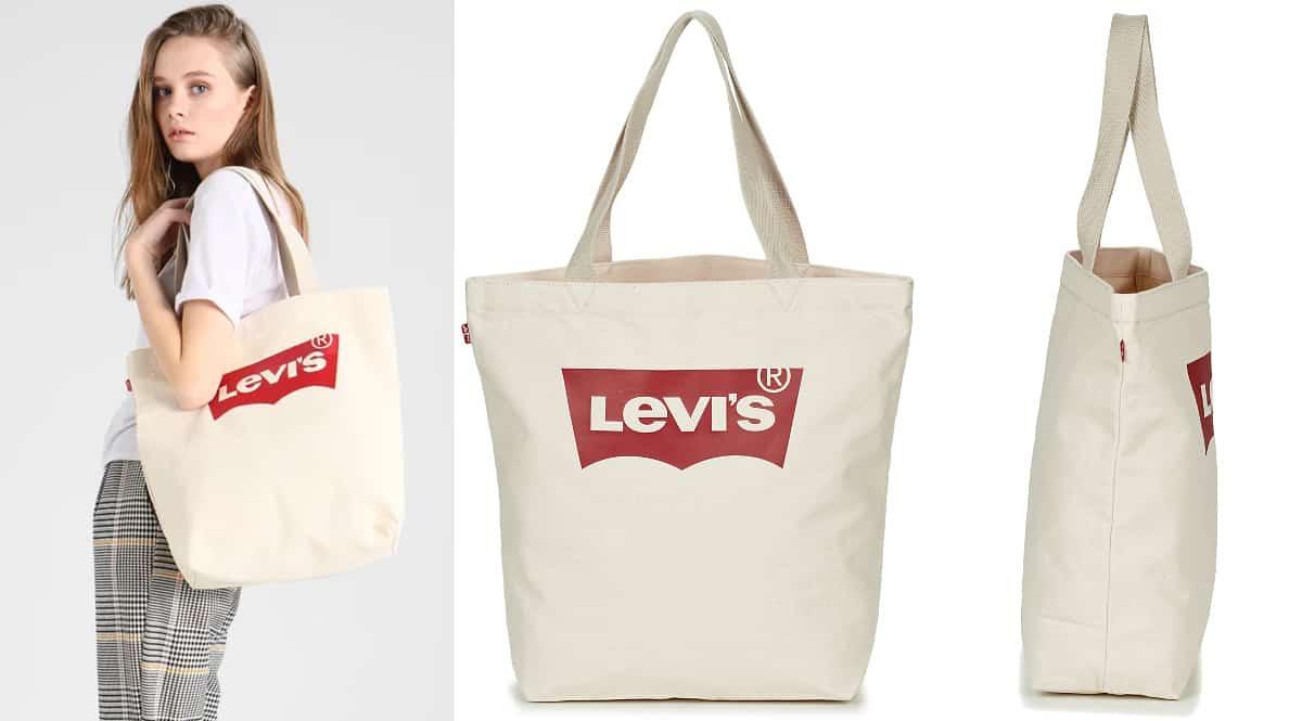 Bolsa Tote bag Levi's Batwing barata, bolsos de marca baratos, ofertas en complementos chollo
