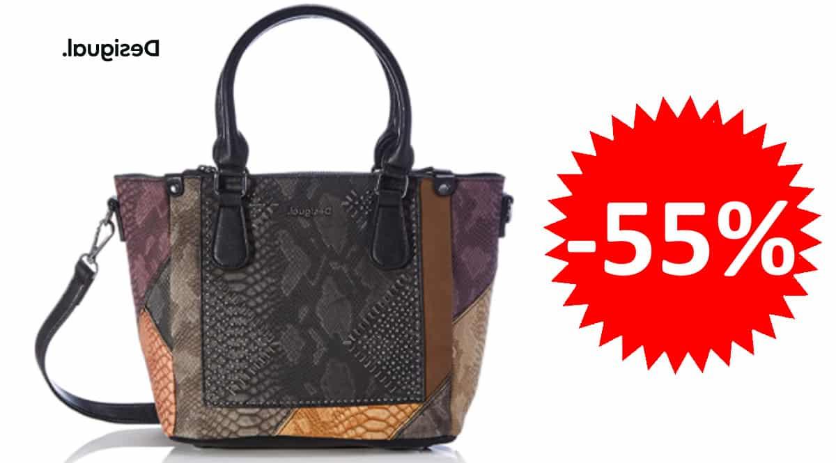 Bolso Desigual Phoenix Safi barato, bolsos de marca baratos, ofertas equipaje, chollo
