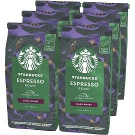 Café en grano Starbucks Espresso Dark Roast barato, café de marca barato, ofertas supermercado