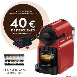 Cafetera de cápsulas Krups Nespresso Inissia XN1005 barata, cafeteras de marca baratas, ofertas hogar