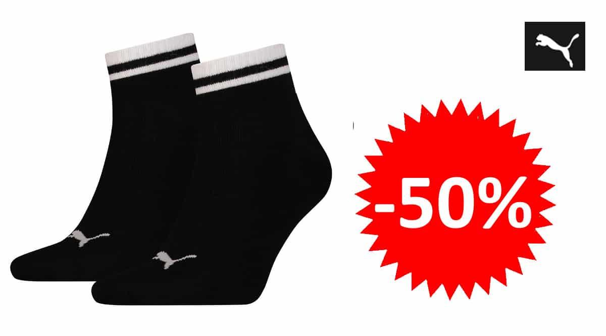 Calcetines Puma Heritage Quarter baratos, calcetines de marca baratos, ofertas en ropa, chollo