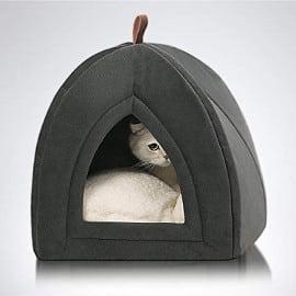 ¡Código descuento! Cama/tienda para mascotas Bedsure sólo 12.49 euros. 50% de descuento. Excelentes valoraciones.