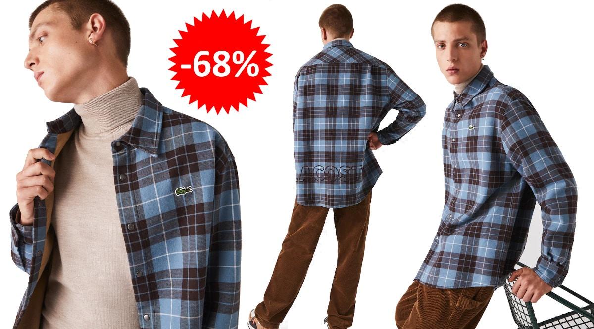 Camisa Lacoste Live barata, ropa de marca barata, ofertas en camisas chollo