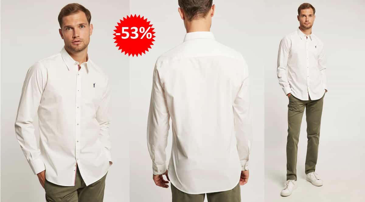Camisa Polo Club Rigby Slim barata, camisas de marca baratas, ofertas en ropa, chollo