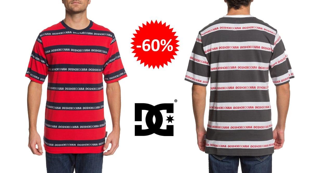 Camiseta DC Shoes Middlegate barata, ropa de marca barata, ofertas en camisetas chollo