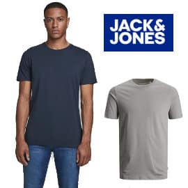 Camiseta Jack & Jones Jjeorganic Basic barata, camisetas de manga corta de marca baratas, ofertas en ropa