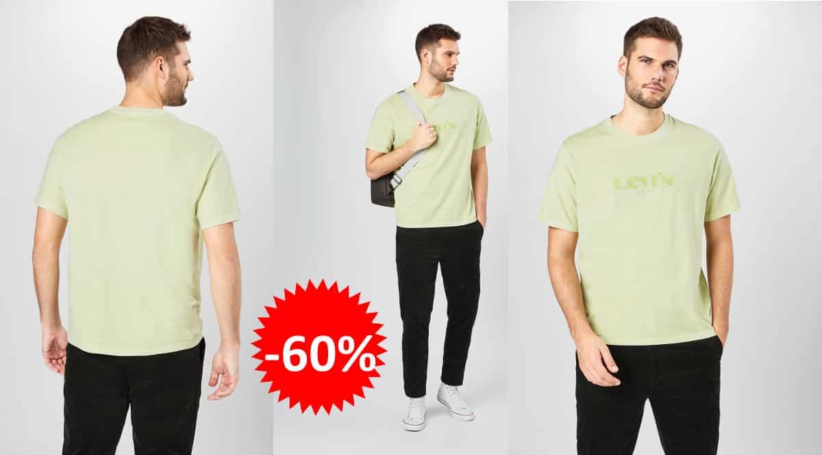 Camiseta Levi's Short Sleeved Relaxed barata, camisetas de marca baratas, ofertas en ropa, chollo