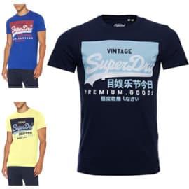 Camiseta Superdry Vintage barata. Ofertas en ropa de marca, ropa de marca barata