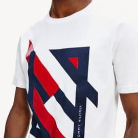 Camiseta Tommy Hilfiger Deconstructed barata, ropa de marca barata, ofertas en camisetas