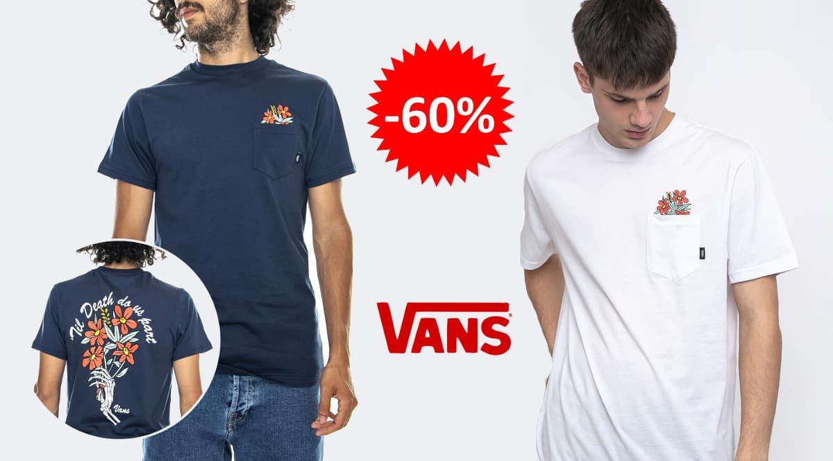 Camiseta Vans Death Pocket barata, ropa de marca barata, ofertas en camisetas chollo