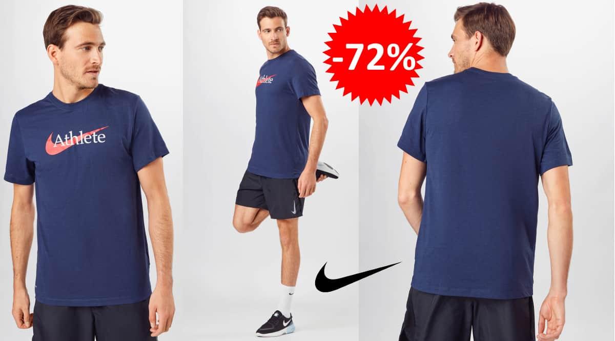 Camiseta de entrenamiento Nike Dri-FIT barata, camisetas de marca baratas, ofertas en ropa, chollo