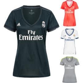 Camiseta del Real Madrid para mujer barata, ropa de marca barata, ofertas en material deportivo