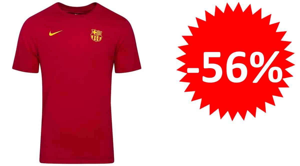 Camiseta para hombre Nike F.C. Barcelona 2020-2021 barata, camisetas deportivas de marca baratas, ofertas en ropa, chollo